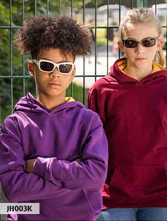 Børne hættetrøje